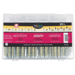 Sakura Pigma Micron/Brush/Graphic Complete Set of 59 Assorted Tips