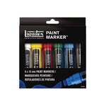 Liquitex Professional Paint Markers Set of 6 Markers Wide (15mm)