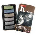 Derwent Xl Graphite Blocks 6pk