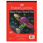 Faber-Castell Kids Black Paper Sketch Pad
