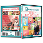 Home Art Studio Holiday Arts And Crafts Projects DVD