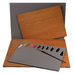 New Wave Posh Wood Tabletop Palettes