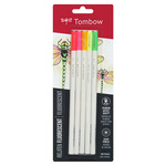 Tombow Irojiten Colored Pencils Irojiten Color Pencil Sets Set of 5 - Fluorescent Colors
