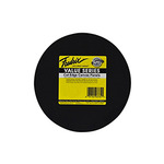 "Fredrix Cut Edge Round Canvas Panels 25-Pack 8"" - Black"