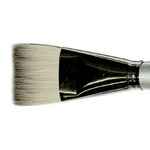 Simply Simmons Extra-Firm Synthetic Short Handle Brushes Glaze SH 1