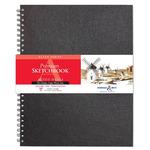 """Stillman and Birn Premium Mixed Media Sketchbooks Alpha Series, 50 sheets 6x8"""" - Wirebound"""