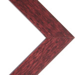 "Denver .75  Wood Frame with acrylic glazing and cardboard backing 22x28"" - Mahogany"