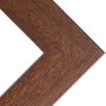 "Phoenix 1"" Wood Frame with 2mm glass and cardboard backing 16x20"" - Walnut"