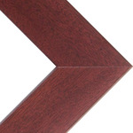 "Phoenix 1"" Wood Frame with acrylic glazing and cardboard backing 24x36"" - Mahogany"