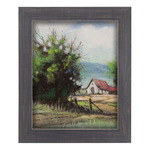 Country Chic Wide Weathered Blue Frames
