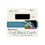 Strathmore Blank Black Artist Cards