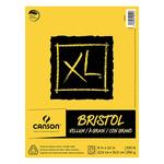 "Canson XL Bristol Pads Vellum 25 Sheet Pad 11x14"""