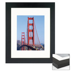 "Box of 4 Black 16x16""/8x8"" Frames"