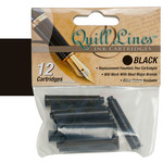 Quill Lines Replacement Cartridge 12-Pack - Black