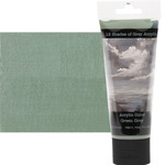 12 Shades of Grey Acrylic Colors 75 ml Tube - Green Grey