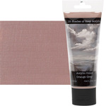12 Shades of Grey Acrylic Colors 75 ml Tube - Orange Grey