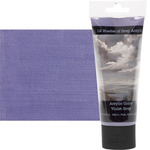12 Shades of Grey Acrylic Colors 75 ml Tube - Violet Grey