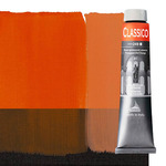 Maimeri Classico Oil Color 200 ml Tube - Permanent Red Orange
