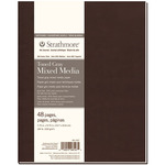 """Strathmore 400 Soft Cover Toned Mixed Media Journal Gray 7.75X9.75"""""""