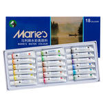 Marie's Extra Fine Watercolor Set of 18,12 ml Tubes