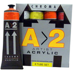 Chroma A>2 Student Artists Acrylic Sets