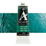 Grumbacher Academy Oil Color 150 ml Tube - Thalo Green