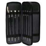 Creative Mark Genuine Leather Brush Cases