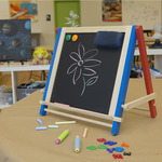 First Impressions Children's Table and Travel Easel with Accessory Pack