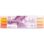 Kuretake Zig Brushable Marker Set of 4 Yellows