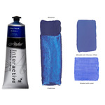 Interactive Professional Acrylic 80 ml Tube - Cobalt Blue