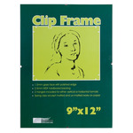 """Ambiance Gallery Clip Frame Single 9x12"""""""