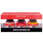 Amsterdam Acrylic Ink 30Ml 6 Color Basic Set