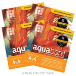 "4-Pack Aquabord 1/8"" Panel 4X4"