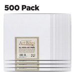 ArtBites Canvas Textured Boards 500 pack