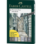 Faber-Castell PITT Brush Pen Wallet Sets