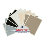 "Art Spectrum Colourfix Fine Tooth Pastel & Mixed Media Paper Exclusive 9.5""x12.5"" Sheets Sampler Pack of 10"