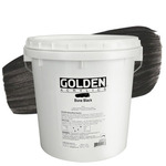 GOLDEN Heavy Body Acrylic 1 Gallon - Bone Black