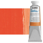 LUKAS Berlin Water Mixable Oil Color 37 ml Tube - Cadmium Orange Hue