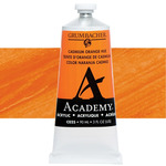 Grumbacher Academy Acrylic 90 ml Tube - Cadmium Orange
