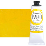 Gamblin 1980 Oil Colors 37 ml Tubes - Cadmium Yellow Medium