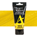 Grumbacher Academy Acrylic 90 ml Tube - Cadmium Yellow Medium