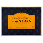 L'Aquarelle Canson Heritage Watercolor Paper 140lb Cold Pressed 20 Sheet Block 18X24""