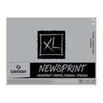 "Canson XL Rough Newsprint 18x24"" (100 Sheets - Tape Bound)"