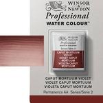 Winsor & Newton Professional Watercolor Half Pan - Caput Mortum Violet