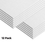 Centurion Deluxe Oil Primed Linen Panel 12-Pack 3x5""