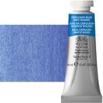 Winsor & Newton Professional Watercolor 14 ml Paint Tube - Cerulean Blue Red Shade