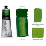 Interactive Professional Acrylic 80 ml Tube - Perm. Sap Green