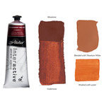 Interactive Professional Acrylic 80 ml Tube - Trans. Red Oxide