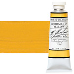 M Graham Oil Color 1.25Oz/37Ml Chrome Tin Yellow