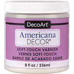 DecoArt Americana Soft Touch Varnish Clear 8oz